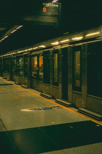 Delhi Metro underground station